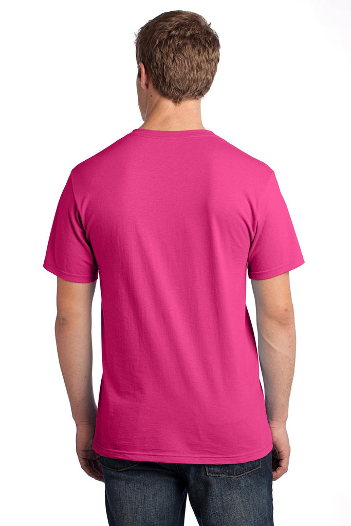 Fruit of the Loom 3930 HD Cotton 100% Cotton T-Shirt - Cyber Pink - HIT A Double