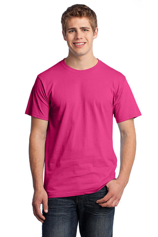 Fruit of the Loom 3930 HD Cotton 100% Cotton T-Shirt - Cyber Pink