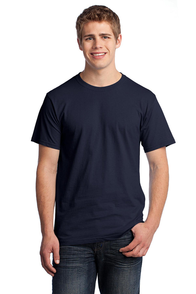 Fruit of the Loom 3930 HD Cotton 100% Cotton T-Shirt - Navy - HIT A Double