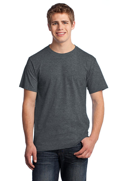 Fruit of the Loom 3930 HD Cotton 100% Cotton T-Shirt - Black Heather