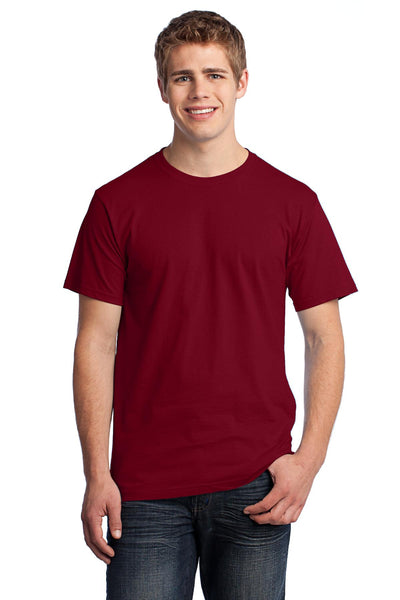 Fruit of the Loom 3930 HD Cotton 100% Cotton T-Shirt - Cardinal