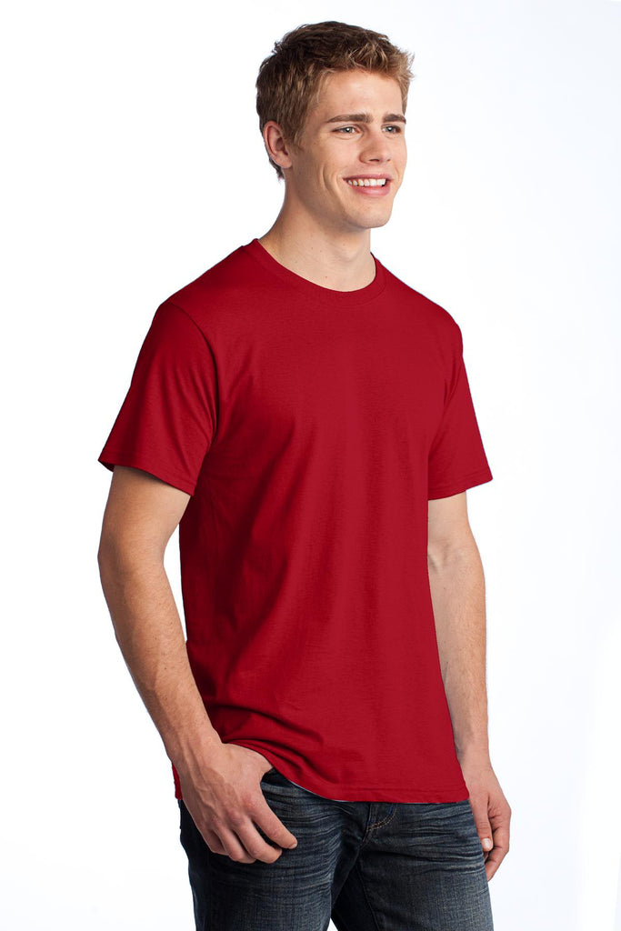 Fruit of the Loom 3930 HD Cotton 100% Cotton T-Shirt - True Red - HIT A Double