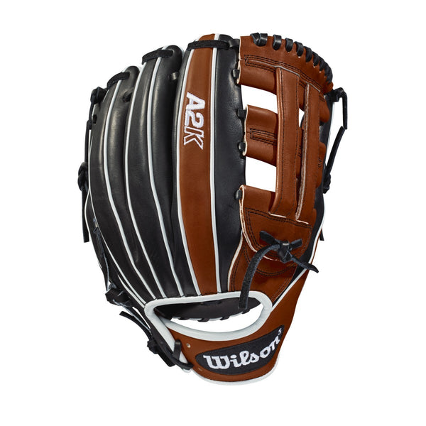 "Wilson A2K 1721 12.00"" Infield Glove WTA2KRB181721 - Black Brown"