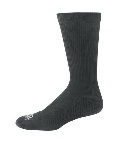 Pro Feet 4010-4020 Silver Tech Crew - Black - Work Wear - Hit A Double