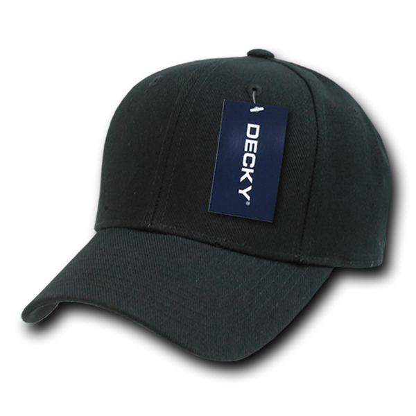 Decky 402 Fitted Cap - Black - HIT A Double