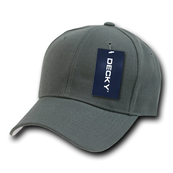 Decky 402 Fitted Cap - Charcoal - HIT A Double