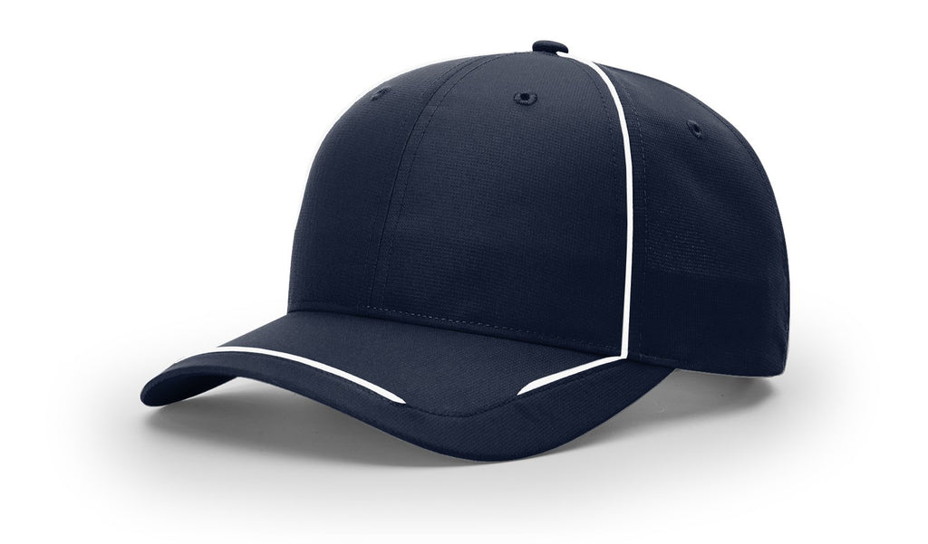 Richardson 402 Lite W/ Contrast Piping Adjustable Cap - Navy White