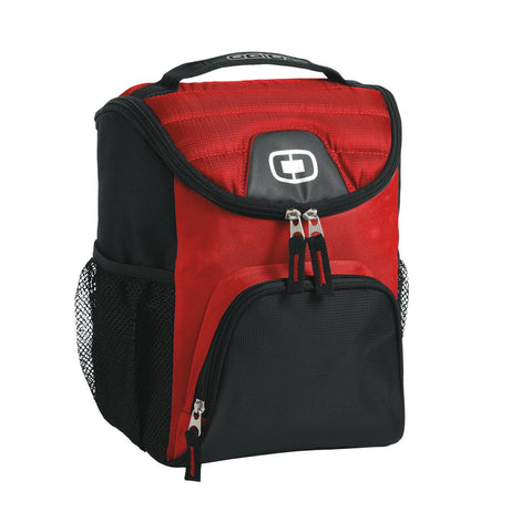 OGIO 408112 Chill 6-12 Can Cooler - Red - HIT A Double
