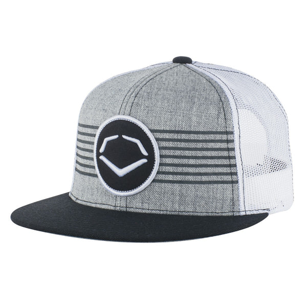 ba88d48b1c70a ... usa evoshield throwback patch wool snapback hat gray white 5b58a 61038