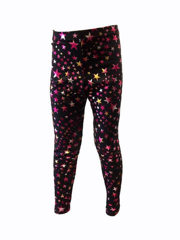 Pizzazz Sport Cheer Dance Superstar Tights - Hot Pink