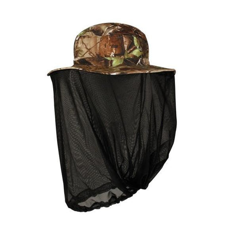 OC Sports 411EXBN Bucket Hat with Attached Nrt Facemask - Realtree Xtra Green