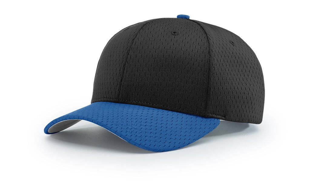 Richardson 414 Pro Mesh Adjustable Cap - Black Royal