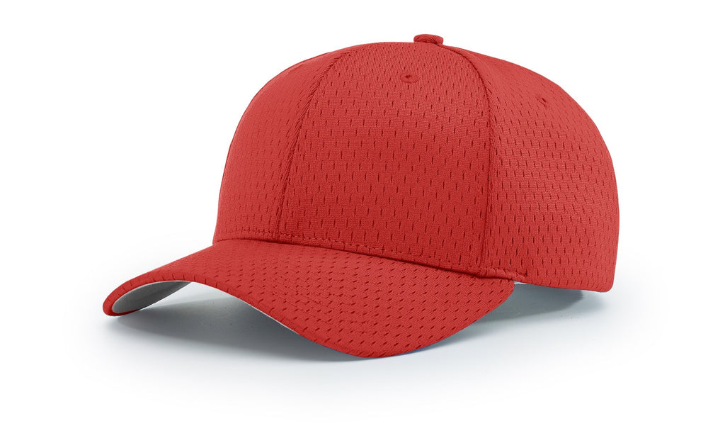 Richardson 414 Pro Mesh Adjustable Cap - Red