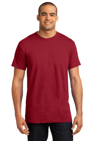 Hanes 4200 X-Temp T-Shirt - Deep Red