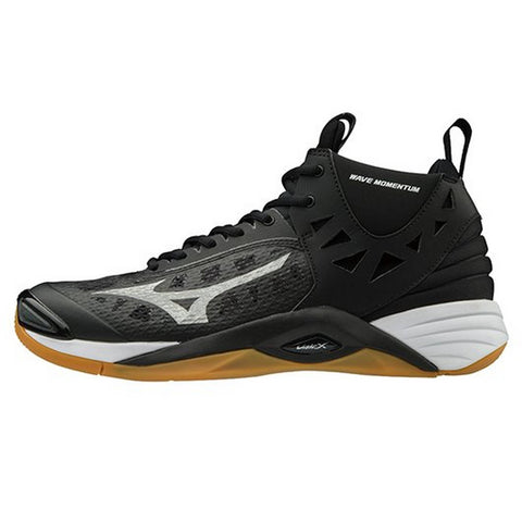 Mizuno Wave Momentum Mid Men's Volleyball Shoe 430262 - Black Silver