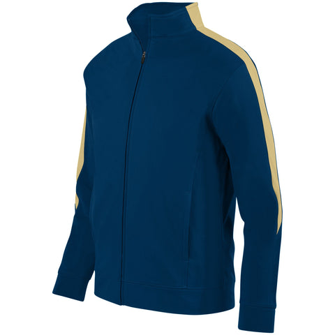 Augusta 4396 Youth Medalist Jacket 2.0 - Navy Vegas Gold
