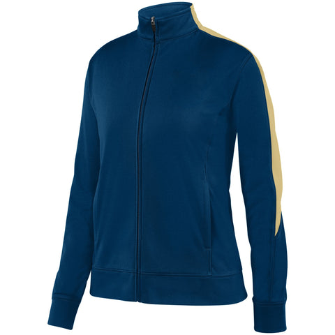 Augusta 4397 Ladies Medalist Jacket 2.0 - Navy Vegas Gold
