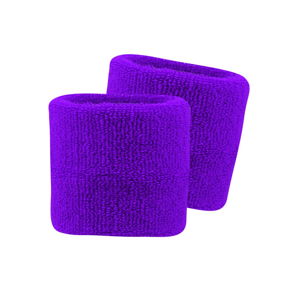 "Twin City Pro Wristbands 3.5"" - Purple"