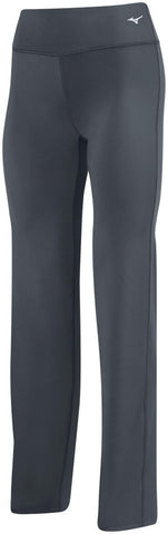 Mizuno Align Pant - Charcoal - Volleyball Apparel Women, Outerwear - Hit A Double
