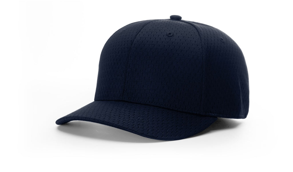 "Richardson 445 Umpire Promesh 2 1/2"" Bill Fitted Cap - Navy"