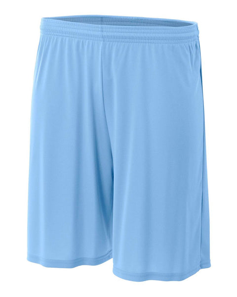 "A4 NB5244 Youth 6"" Cooling Performance Short - Light Blue - HIT A Double"