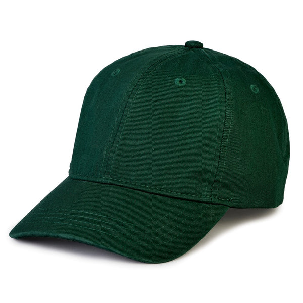 The Game GB310 Dad Cap Twill Cap - Forest Green