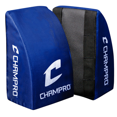 Champro CG28RY Catcher's Knee Support Youth Roy Pair - Royal