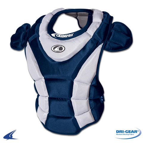 Champro CP66 Girl's Chest Protector 15 - Navy - HIT A Double