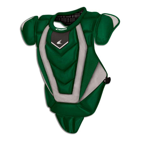 Champro CP82 Pro-Plus Senior League Chest Protector 16.5 - Forest Green - HIT A Double