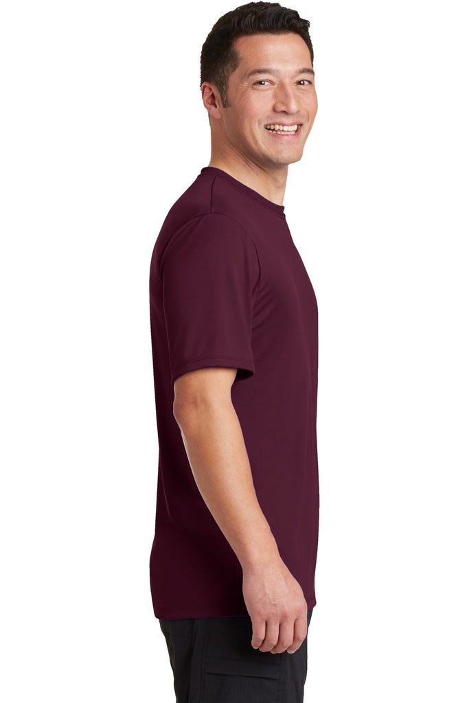 Hanes 4820 Cool Dri Performance T-Shirt - Maroon - HIT A Double