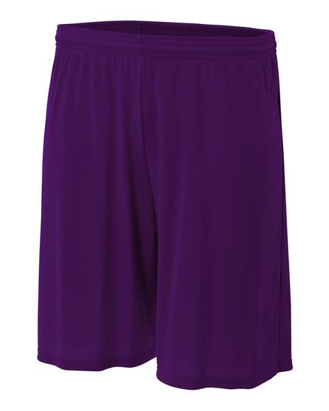 "A4 NB5244 Youth 6"" Cooling Performance Short - Purple - HIT A Double"