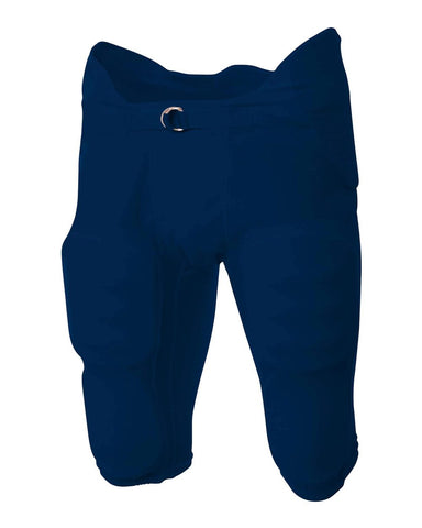 A4 NB6180 Youth Flyless Intergrated Football Pant - Navy