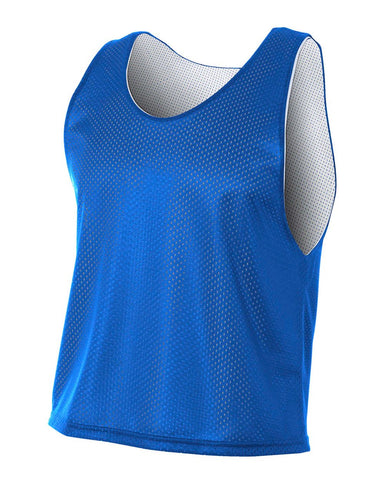 A4 N2274 Lacrosse Reversible Practice Jersey - Royal White