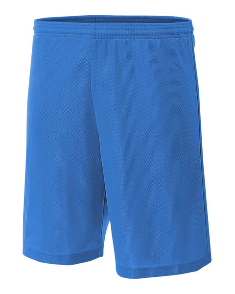 "A4 NB5184 Youth 6"" Lined Micromesh Shorts - Royal - HIT A Double"