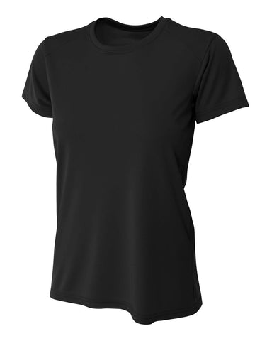A4 NW3201 Women's Cooling Performance Crew - Black