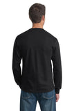 Fruit of the Loom 4930 HD Cotton 100% Cotton Long Sleeve T-Shirt - Black - HIT A Double