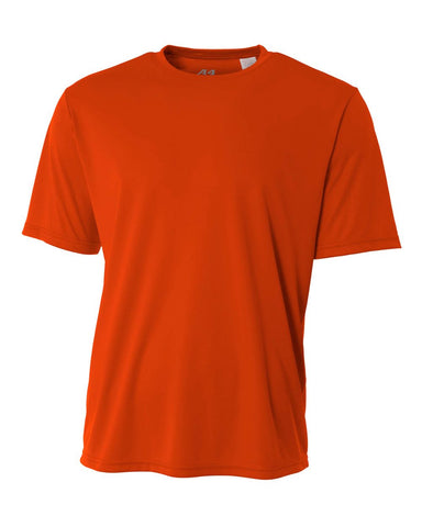 A4 N3142 Cooling Performance Crew - Athletic Orange - HIT A Double