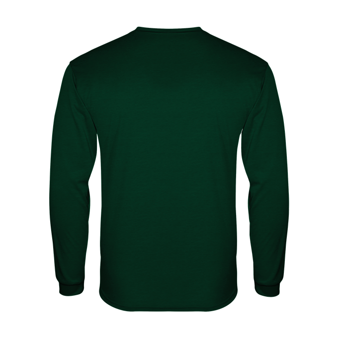 Badger 4944 Tri-Blend Long Sleeve Tee - Forest - HIT A Double