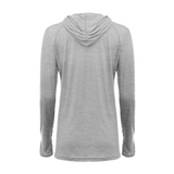 Badger 496500 Tri-Blend Surplice Women's Hood Tee - Oxford - HIT A Double