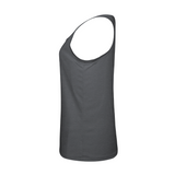 Badger 4966 Tri-Blend Ladies' Racerback Tank - Graphite Heather