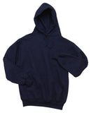 Jerzees 4997M Super Sweats Nublend Pullover Hooded Sweatshirt - Navy - HIT A Double