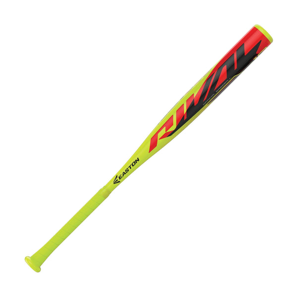 "Easton 2019 Rival (-10) USA Approved 2 1/4"" Bat - Lime Red - HIT A Double"