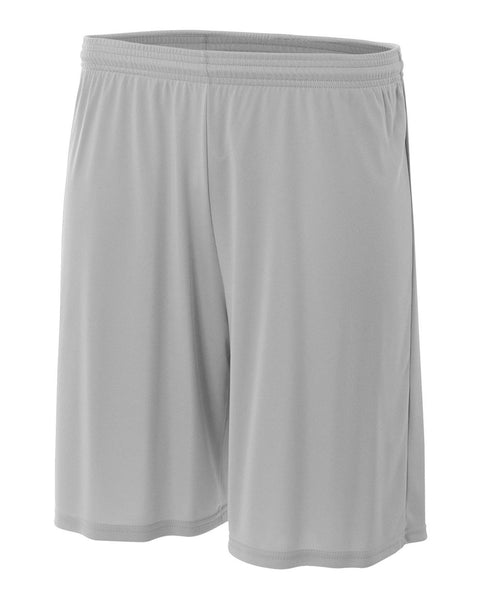 "A4 NB5244 Youth 6"" Cooling Performance Short - Silver - HIT A Double"