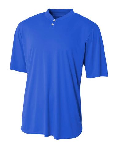 A4 N3143 Tech Performance Henley - Royal - HIT A Double