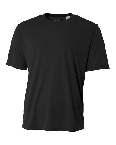 A4 NB3142 Youth Cooling Performance Crew - Black