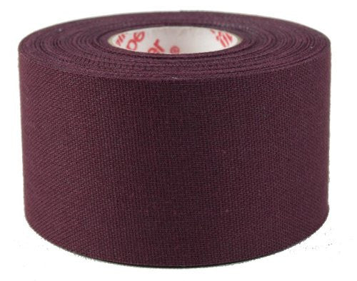"Mueller Mtape 1.5"" x 10 yds Maroon - 2 pk value - Baseball Accessories, Softball Accessories - Hit A Double - 1"