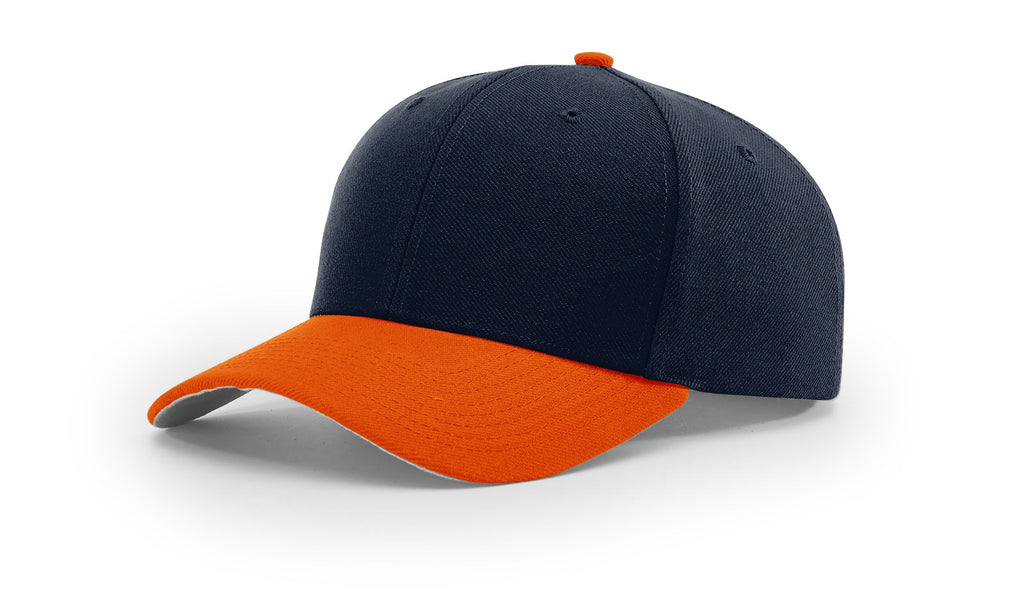 Richardson 514 Surge Adjustable Cap - Navy Orange