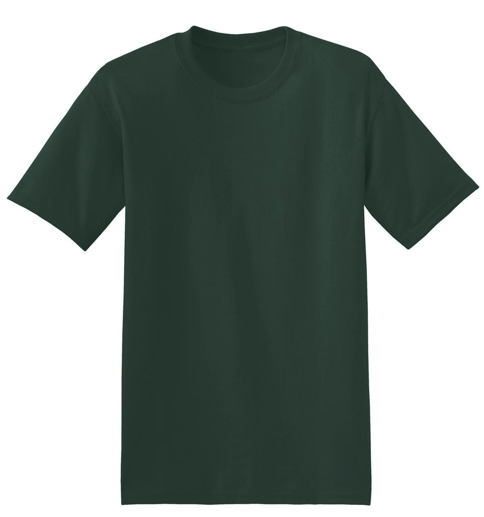 Hanes 5170 Ecosmart 50/50 Cotton/Poly T-Shirt - Deep Forest - HIT A Double