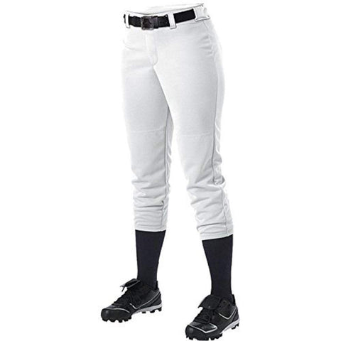 Alleson 605PBWY Girl's Fastpitch Pant - White