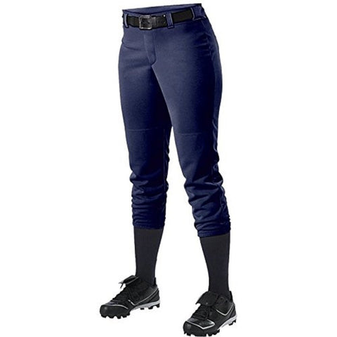 Alleson 605PBWY Girl's Fastpitch Pant - Navy